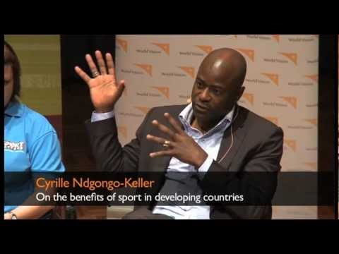 Cyrille Ndgongo-Keller on the benefits of sport in developing countries