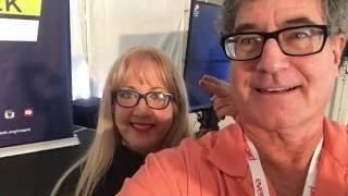 "Lori and Randall at Social Week Miami 2016 ""Reimagine Human Connectivity"". Lori was the mo"