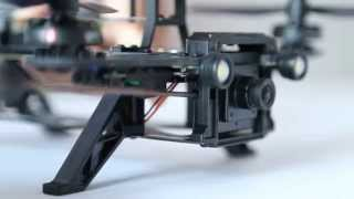 Walkera Runner250 How to install camera, 5.8G transmitter and OSD