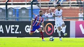 No Pacaembu, Santos bate o Bahia e deixa tricolor com o alerta ligado contra a degola.Gols: Bruno Henrique (3).