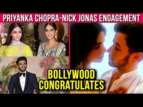 Bollywood Stars Congratulate Priyanka Chopra Nick