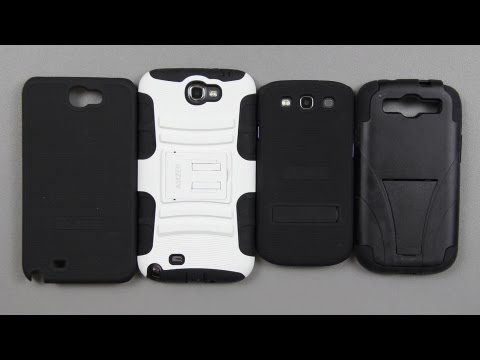 Amzer Galaxy Note II and Galaxy S3 Cases