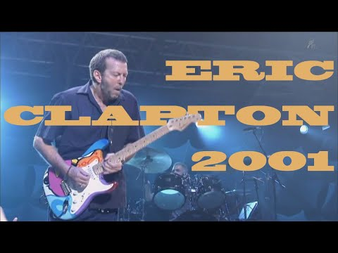 ERIC CLAPTON Live at Budokan, Tokyo, 2001 (Full Concert):  Live at Budokan, Dec 4, 2001Key To The Highway 0:38 Reptile 3:41 Got You On My Mind 10:25 Tears In Heaven 14:21 Layla (acoustic) 18:51 Bell Bottom Blues 23:33 Change The World 28:37 River Of Tears 35:15 Goin' Down Slow 44:04 She's Gone 49:28 I Want A Little Girl 57:01 Badge 1:01:36 Hoochie Coochie Man 1:07:42 Five Long Years 1:12:39 Cocaine 1:20:57 Wonderful Tonight 1:25:44 Layla (electric) 1:32:58 Sunshine Of Your Love 1:43:05 Somewhere Over The Rainbow 1:50:00?