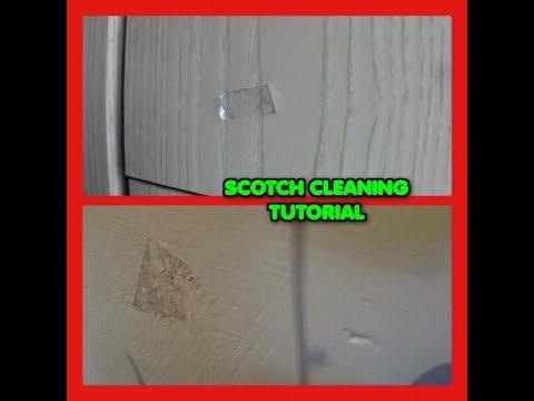 Rimuovi facilmente nastro adesivo, biadesivo e tracce da armadi e pareti senza solventi tutoria