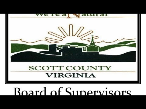 Video: Scott County VA Board of Supervisors Meeting - June 2020