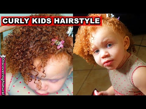 Curly hairstyles - Curly Kids Hairstyles: Wash and Go Toddler Hair Routine  Curly Kids Mixed Hair Care