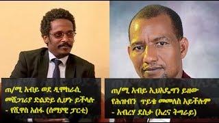 Yeshiwas Assefa & Abraha Desta with SBS | የሺዋስ አሰፋ (ሰማያዊ ፓርቲ) እና አብረሃ ደስታ (አረና ትግራይ) ስለ ጠ/ሚ አብይ አህመድ