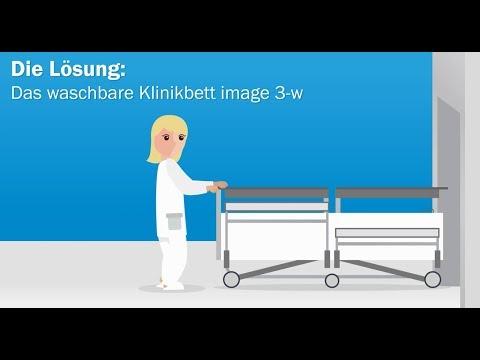 Das waschbare Klinikbett