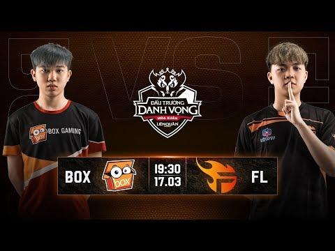 BOX Gaming vs Team Flash - Vòng 5 Ngày 2 - Đấu Trường Danh Vọng Mùa Xuân 2019 - Thời lượng: 1:05:30.