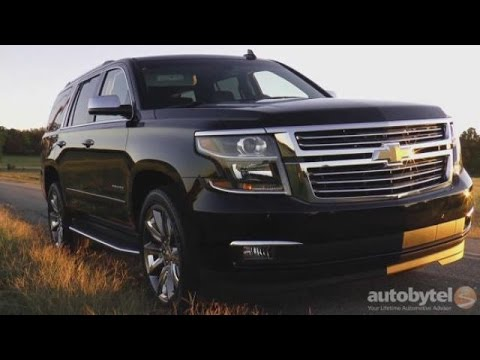 2016 Chevrolet Tahoe Video Review