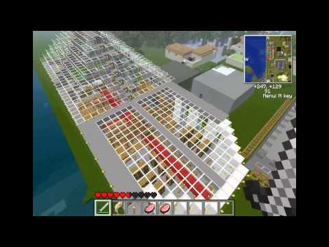 Minecraft- My old Nuclear Power Plant!!