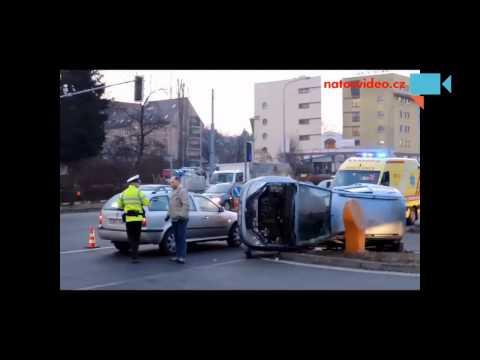 Dopravní nehoda na Staré osadě v Brně