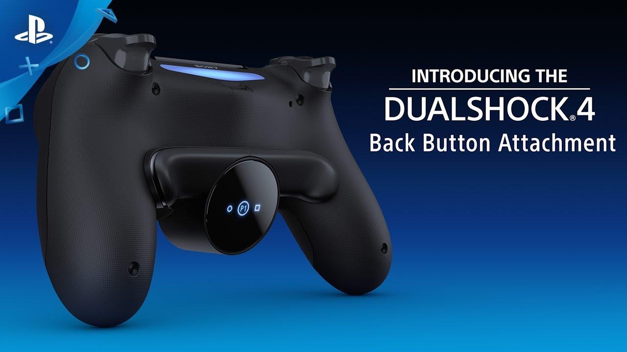Sony tiếp tục phát triển DualShock 4 với Back Button cực kỳ tiện lợi