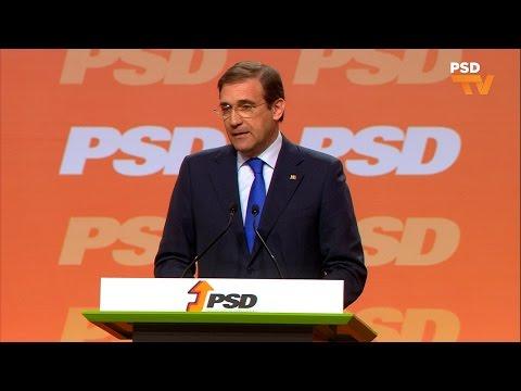 Pedro Passos Coelho no #36congressopsd