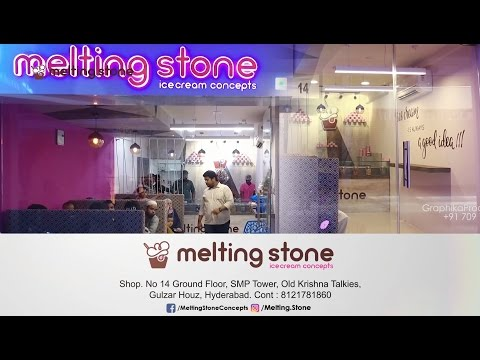 Melting Stone Concepts Ice Cream | Commercial Ad