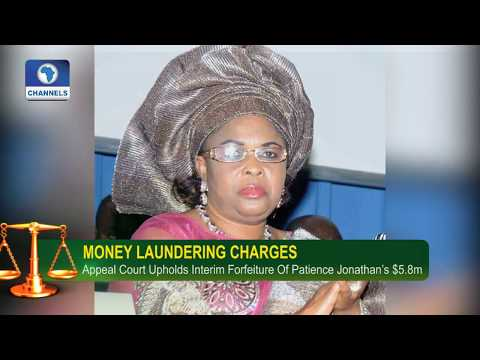 Court Upholds Interim Forfeiture Of Patience Jonathan's $5.8m, N2.5bn  |Law Weekly|