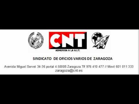 Declaración de la CNT en el Congreso de Zaragoza de 1936