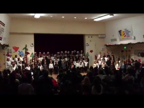 Mrs. Forrys 2015 Holiday Performance