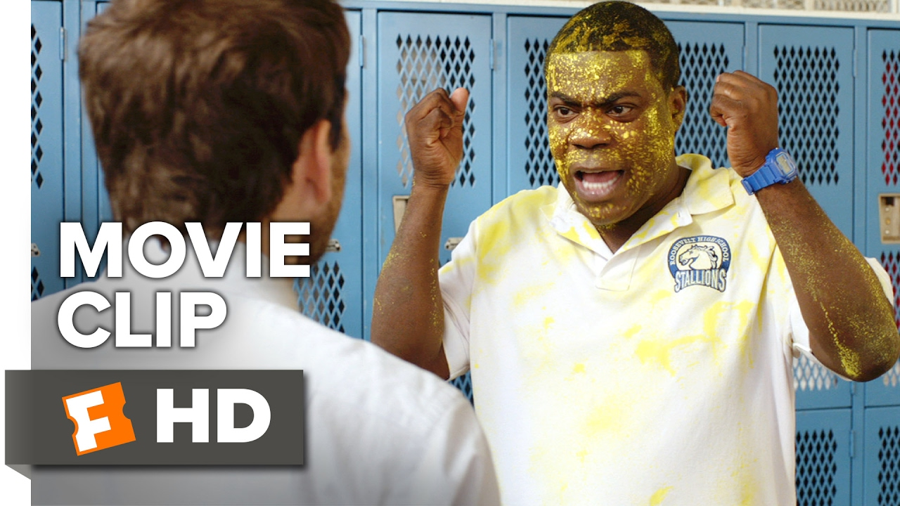 After School. Parking Lot. It's On. It's Ice Cube Vs. Charlie Day in Comedy 'Fist Fight' [Clip] with Tracy Morgan