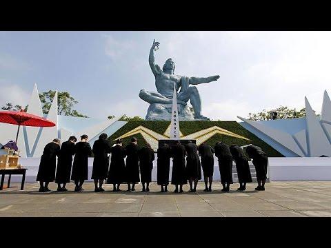 Ιαπωνία: Τελετή στο Ναγκασάκι για τα 70 χρόνια από τη ρίψη ατομικής βόμβας