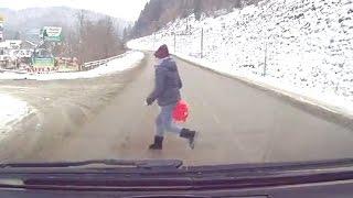 Безумство храбрых (безбашенные пешеходы) Тематические подборки дтп