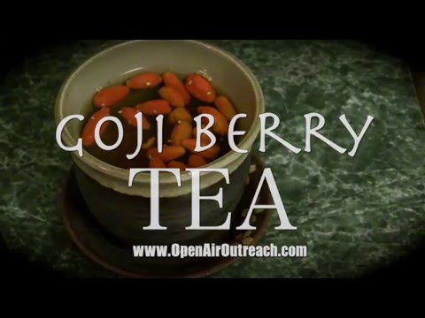 Goji Berry Tea: How to Make it & Why You Should | Jesse Morrell