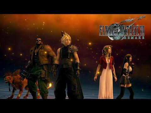 Pelicula completa FINAL FANTASY VII REMAKE - All cutscenes Full movie HD
