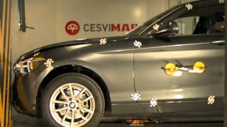Crash-Test BMW Serie 1 delantero en Cesvimap