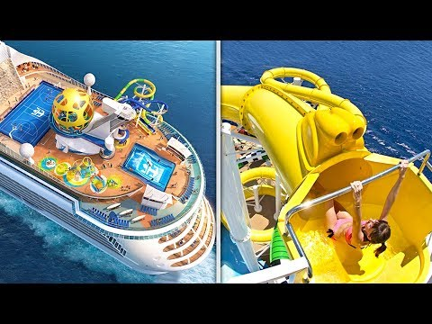 10 Insanely Luxurious and Incredible Cruise Ships