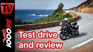 6. First test | Suzuki V-Strom 1000 ABS 2014 - Action & Details