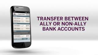 Ally Mobile Banking YouTube video
