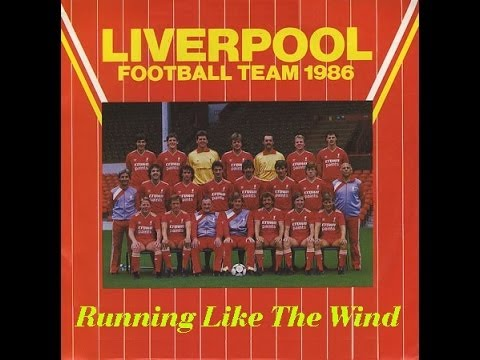 Running Like The Wind LIVERPOOL FOOTBALL SQUAD 1986 FA CUP