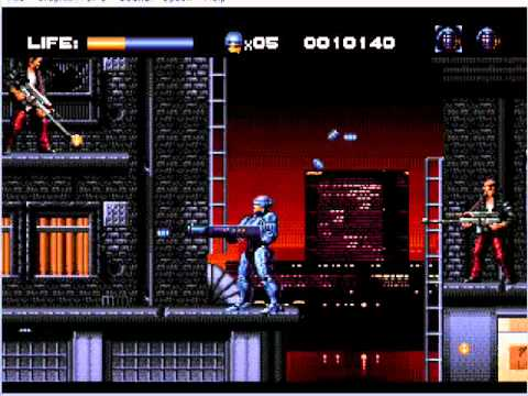 robocop vs terminator mega drive review