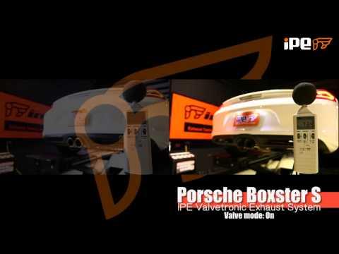 ポルシェ 981 ボクスター / ケイマン 用 iPE 可変バルブマフラー
