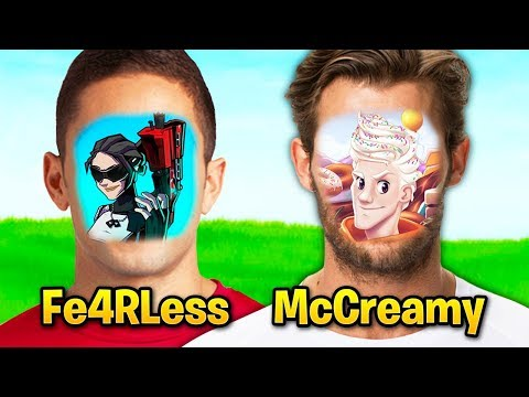 Fortnite Streamers WHO HAVEN'T FACE REVEALED! (McCreamy, Pinky, Kaidoz)