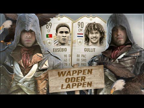 FIFA 21 : ICON Eusebio 89 vs ICON Gullit 90 WAPPEN ODER LAPPEN 😱🔥