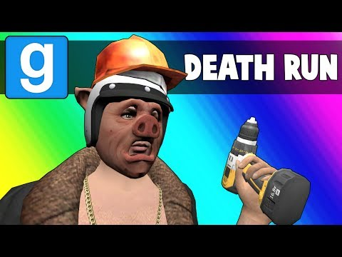Gmod Deathrun Funny Moments - Factory Job Tryouts! (Garry's Mod) (видео)