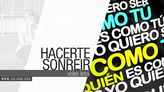JULISSA | Hacerte Sonreir (Official Lyric Video)