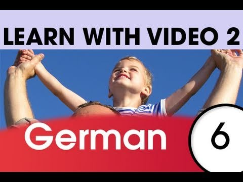 Learn German with Video – Top 20 German Verbs 4
