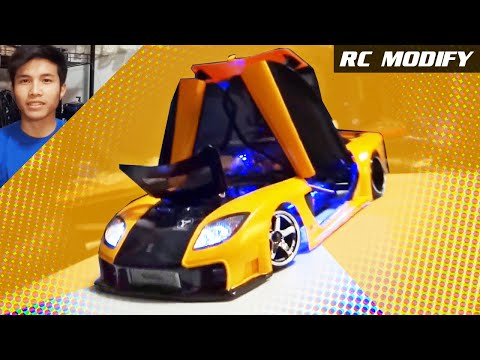 RC Modify 11 | Mazda RX-7 VeilSide [English]