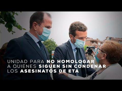 Unidad para no homologar a quienes siguen sin condenar los asesinatos de ETA.