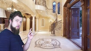 Tour of a Multi Millionaire YouTubers Mansion