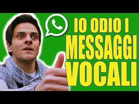 parodia whatsapp - io odio i messaggi vocali - ipantellas