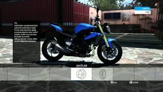 RIDE motosiklet oyunu ilk inceleme.----------Yarış içi inceleme ikinci video da olacaktır.---------Takipte kalın arkadaşlar :)