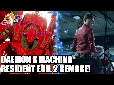 Nintendo Switch - Daemon X Machina Arsenal Info! Resident Evil 2 Remake Collector's Edition + MORE!