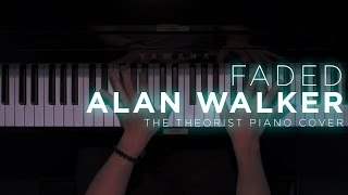 Video Alan Walker - Faded | The Theorist Piano Cover MP3, 3GP, MP4, WEBM, AVI, FLV April 2018