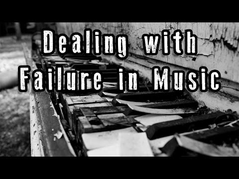 Dealing with failure in a musical performance