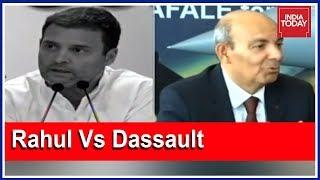 Video Rahul Vs Dassault: Political Face-Off Over Dassault CEO's Rafale's Claims   5ive Live MP3, 3GP, MP4, WEBM, AVI, FLV November 2018