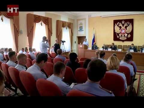 Сегодня состоялось заседание коллегии регионального управления МВД