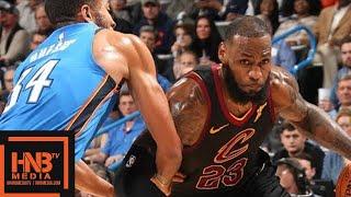 Cleveland Cavaliers vs Oklahoma City Thunder Full Game Highlights / Feb 13 / 2017-18 NBA Season